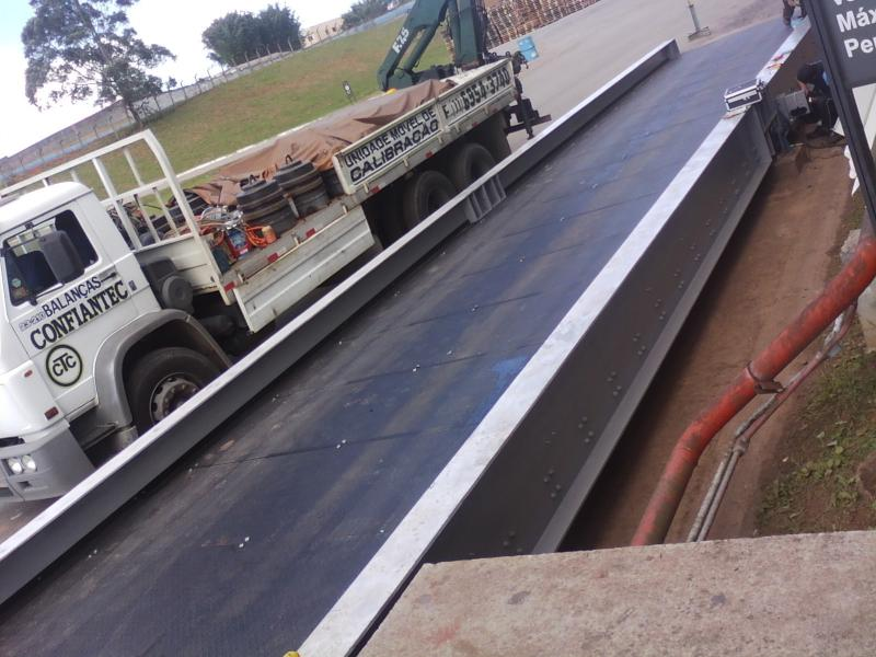 Conserto de balança rodoviária