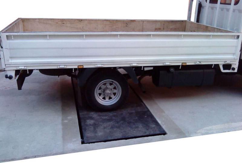 Balança rodoviária móvel