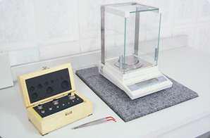 Calibração de balança digital