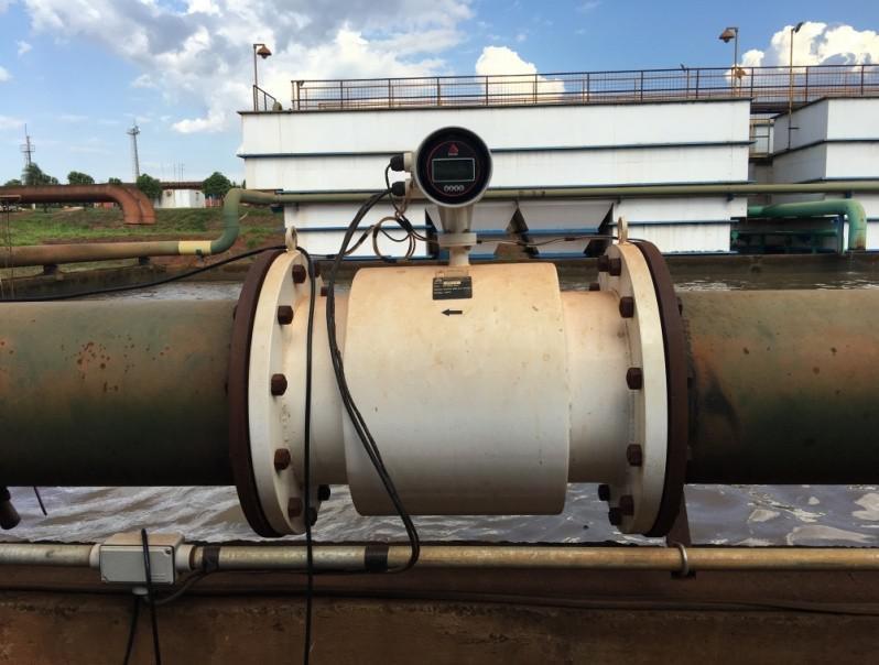 Medidor de vazão eletromagnetica